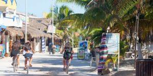 Mahahual villa pescadores en Costa Maya
