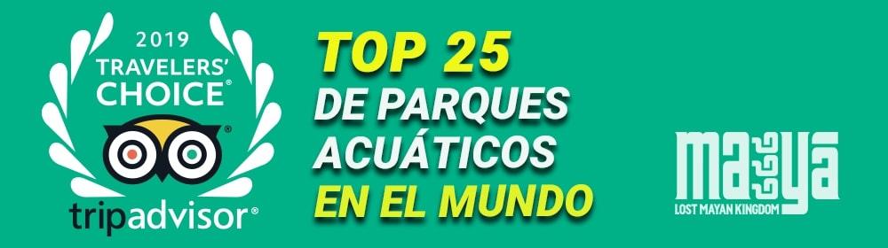 Premio Traveler's Choice Tripadvisor 2019 Top Parques Acuáticos del mundo