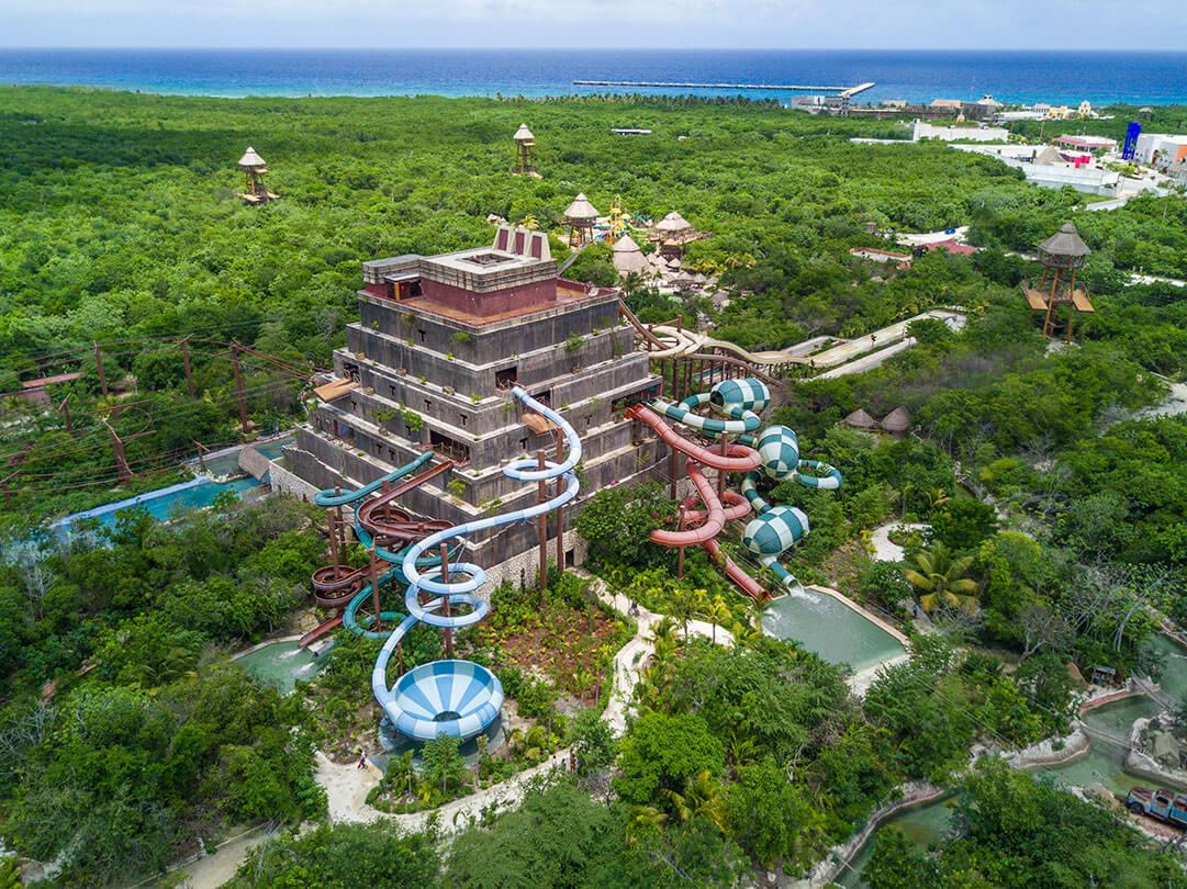 Mayá es un parque temático que convertirá tus vacaciones familiares en una aventura llena de diversión