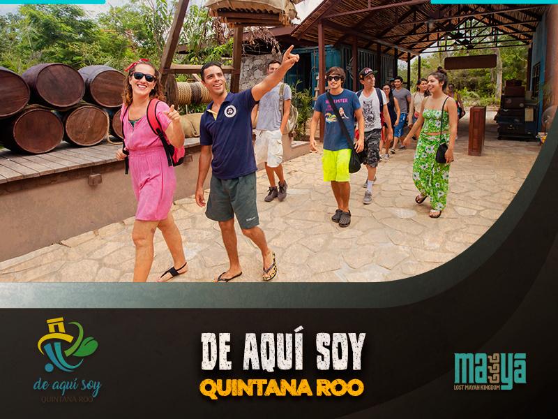 Gracias por visitar nuestro parque temático, Mayá, Lost Mayan Kingdom.