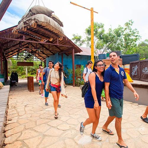 Visita el parque acuático Mayá en Mahahual en la Costa Maya